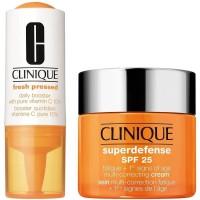 Clinique Superdefense Cream Oily Skin SPF25 + Fresh Pressed