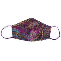 Tie-Me-Up! Tie-Me-Up Silk Mask London Paisley Purple Man