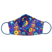 Tie-Me-Up! Tie-Me-Up Silk Mask Flying Colours Blue