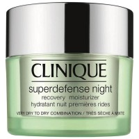 Clinique Superdefense Night Recovery Moisturizer Very Dry To Dry Combination